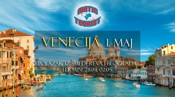 Venecija - 1. maj